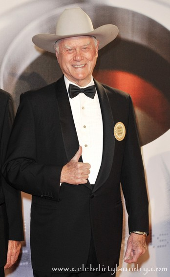 Larry Hagman In a Snit As J.R. Ewing Told To Leave Texas!