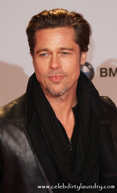 Brad Pitt Taking Intense Cooking Lessons From Jamie Oliver