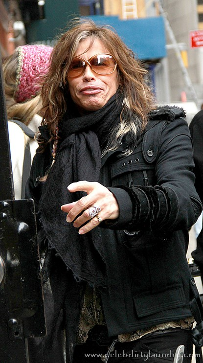 Steven Tyler of Aerosmith and American Idol Gets More Plastic Surgery