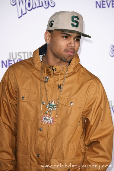 Chris Brown Caught Smoking A Blunt - Marijuana Shot Really A Cigar?