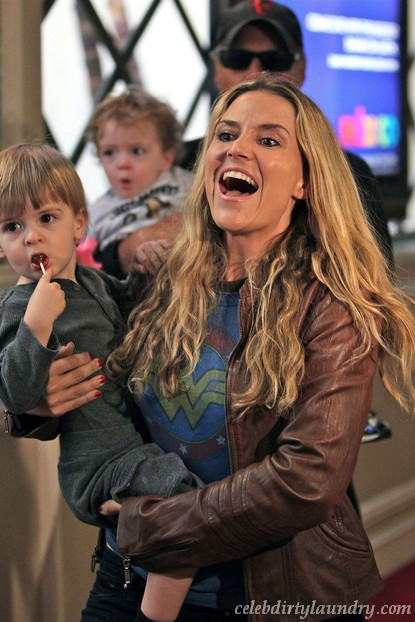Brooke Mueller & Charlie Sheen Going To Court For Custody Fight