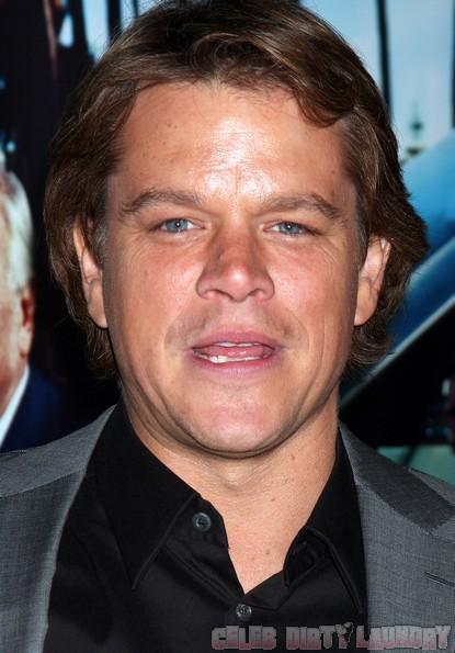 Matt Damon Is A Liar