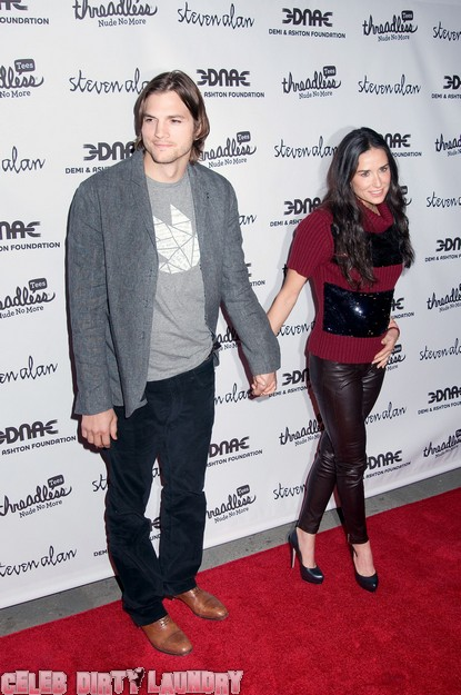 Demi Moore & Ashton Kutcher's $290 Million Divorce?