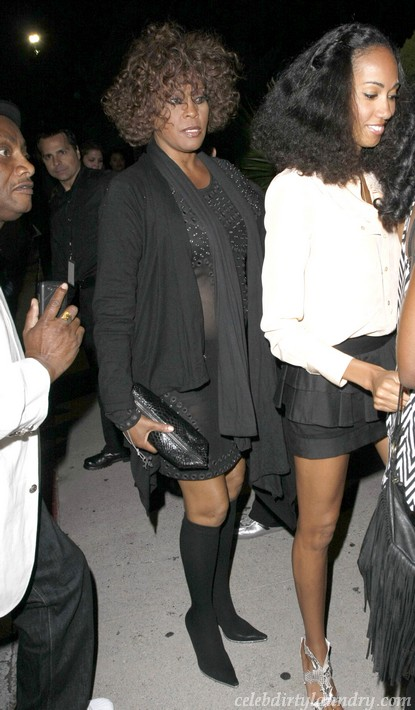 Whitney Houston Checks Into Rehab