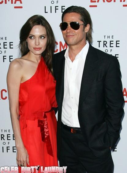 Angelina Jolie & Brad Pitt Not Getting Married Yet