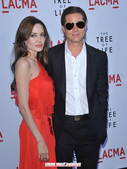 Angelina Jolie In A Jealous Rage Over Brad Pitt's Mystery Woman