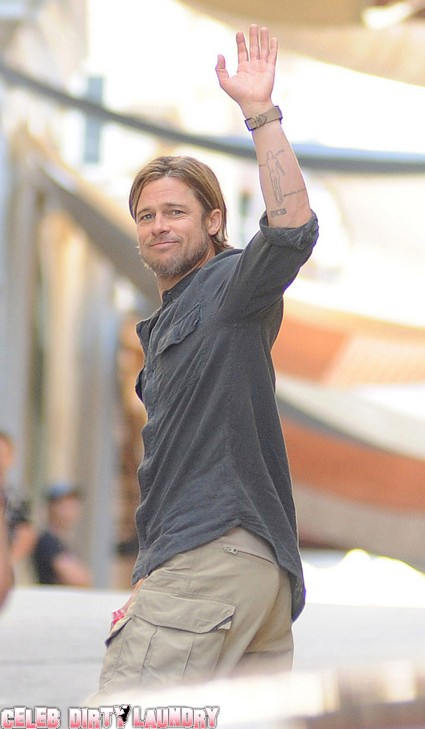 Brad Pitt Ponies Up For Pet Ponies And A Horse
