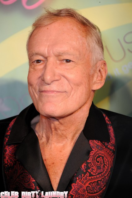 Hugh Hefner Had A Threesome With Crystal Harris