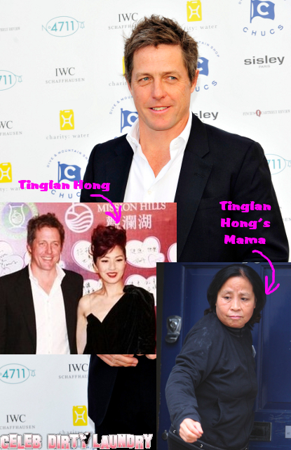 Hugh Grant Tries To Buy Off His Baby Mama