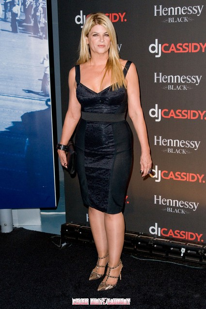 Kirstie Alley Chooses To Smoke Off Her Fat