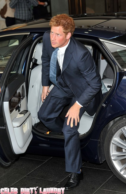 Prince Harry On His Way To Las Vegas To Party Up A Storm