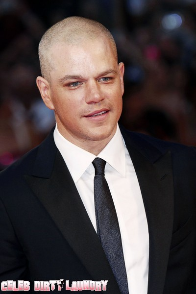Matt Damon - Face To Fang With A Real Lion On The Prowl