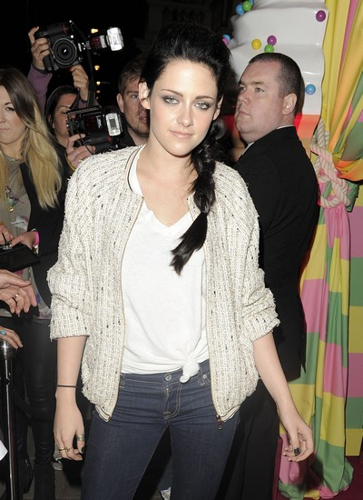 Kristen Stewart Was A Nerdy Goody-Two-Shoes At School