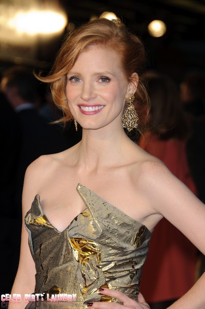 Jessica Chastain Plays Princess Diana In A Film About Her Hidden Love Affair