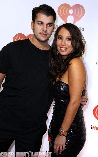 Cheryl Burke: Rob Kardashian Motivated By Low Scores