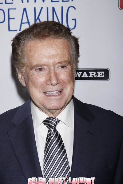 Regis Philbin Now Admits He Was Booted Off LIVE! with Regis & Kelly