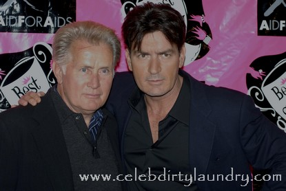 Martin Sheen Says Charlie Is 'Still A Child'