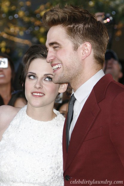 Robert Pattinson & Kristen Stewart Had An Instant Attraction