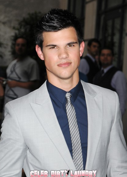 Taylor Lautner Dropped By PR Agent?