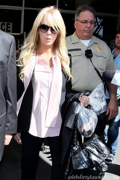 Dina Lohan Angry Over NecklaceVideo.com Footage Sales