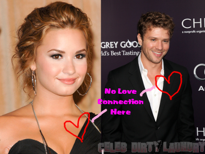 Ryan Phillippe And Demi Lovato NOT Dating!