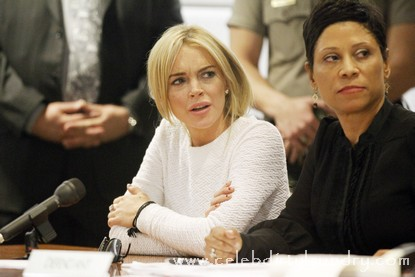 Lindsay Lohan In Court Today - Judge Schwartz Wants To Jail her
