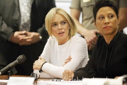 Lindsay Lohan In Court Today - Judge Schwartz Wants To Jail her