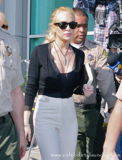 Lindsay Lohan Backed Into A Corner - Jail Looms Large