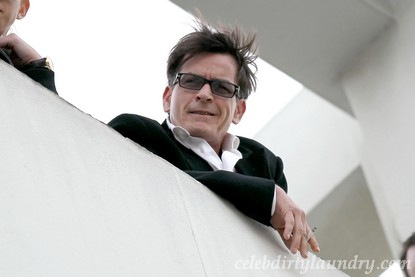 Police Are Raiding Charlie Sheen's Home!