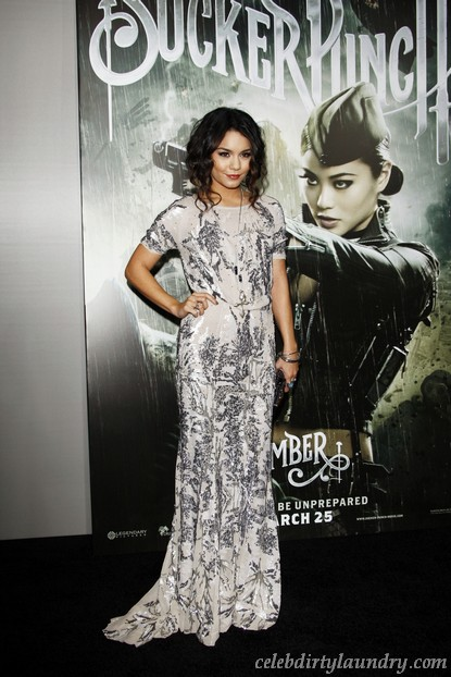 Vanessa Hudgens Denies Dating Josh Hutcherson