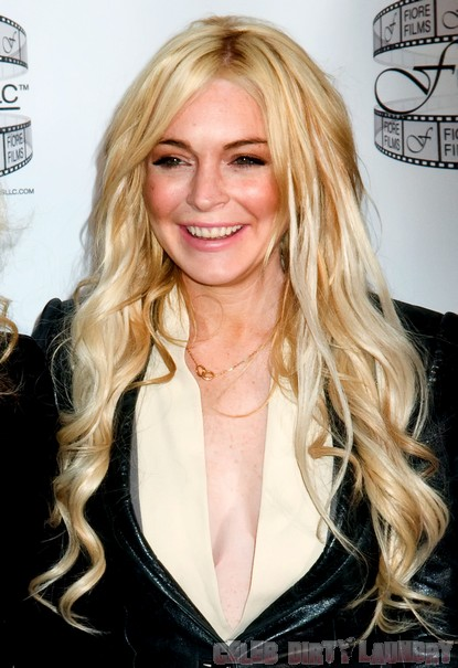 Don't Say Lindsay Lohan Has Been Drinking!