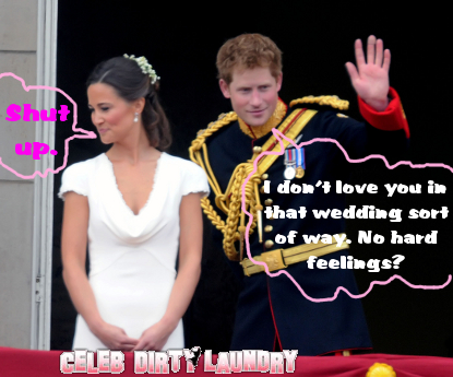 Pippa and Prince Harry ARE NOT Dating