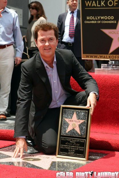 Idol Creator Simon Fuller Gets a Star on Hollywood's Walk of Fame