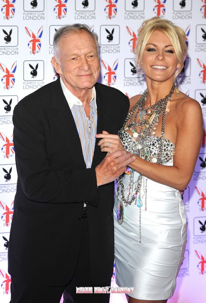 Hugh Hefner Realizes He Was Used By Crystal Harris