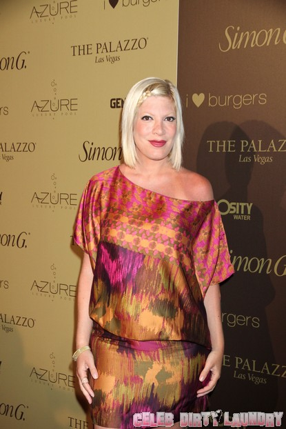 Tori Spelling Involved In Car Accident After Paparazzi Chase