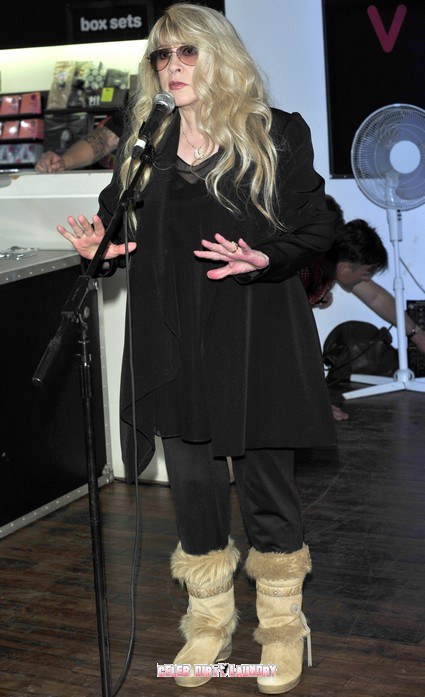 Stevie Nicks Pays Tribute To Betty Ford