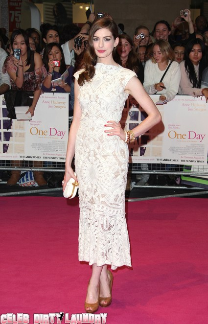 Anne Hathaway Wants To Be Kate Middleton