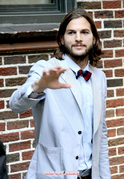 Ashton Kutcher Crosses The Line - Rips Off 'Two and a Half Men'