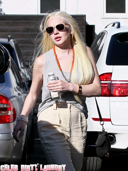 Lindsay Lohan Causes Another Ugly Scene