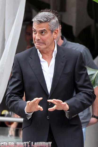 George Clooney Defends Ex-Girlfriend Elisabetta Canalis
