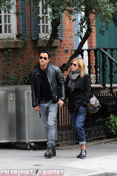 Justin Theroux Is In No Hurry To Marry Jennifer Aniston