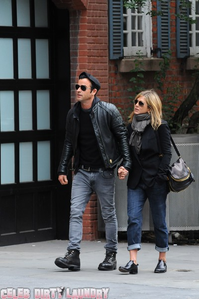 Heidi Bivens Wants Justin Theroux & Jennifer Aniston Out Of NYC