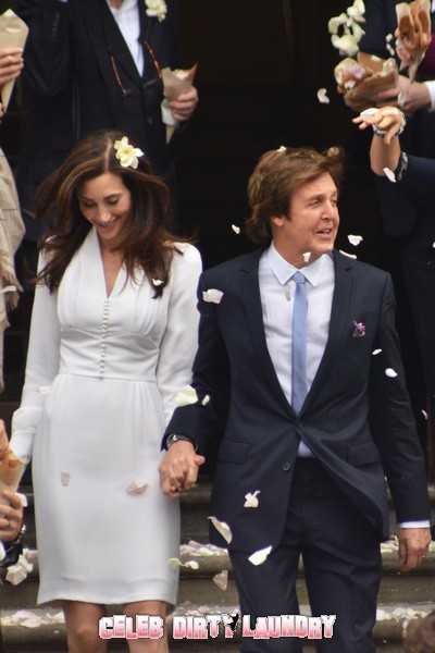 Sir Paul McCartney And Nancy Shevell On Caribbean Honeymoon