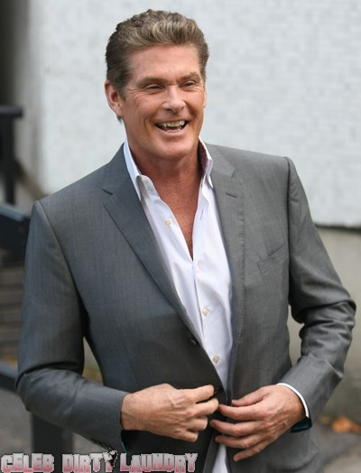 David Hasselhoff Won't Stop Proposing To His Girlfriend