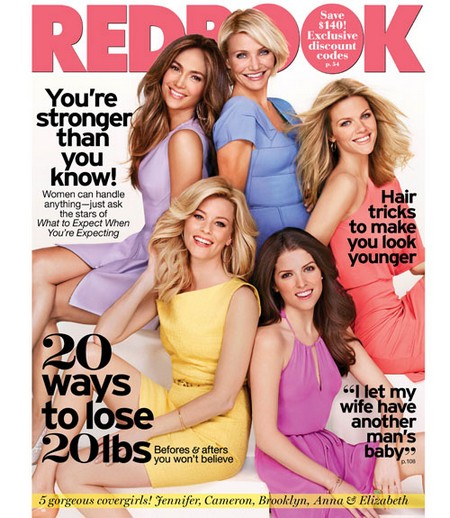 The Women Of 'What To Expect While Expecting' Cover Redbook