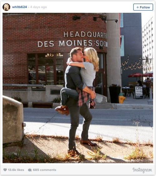 The Bachelor 2015 Spoilers: Chris Soules' Season 19 Winner Whitney Bischoff Won't Move To Iowa – Wedding Cancelled?