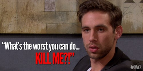Days Of Our Lives Spoilers: Nick Fallon Shot - Speculation Begins On Who Murdered Him - One or More Shooters?