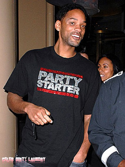 Will Smith Parties with Hot Blonde and Without Jada Pinkett