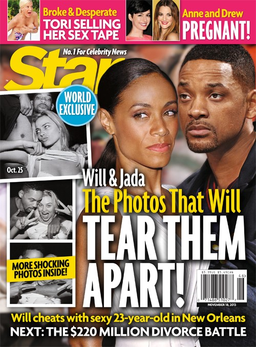 Will Smith Cheated On Jada Pinkett Smith With Margot Robbie - PDA and Nude Pics (PHOTO)