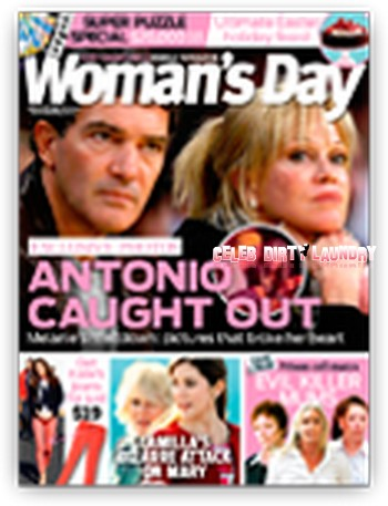 Antonio Banderas Caught Cheating On Melanie Griffith On Video (Photo)